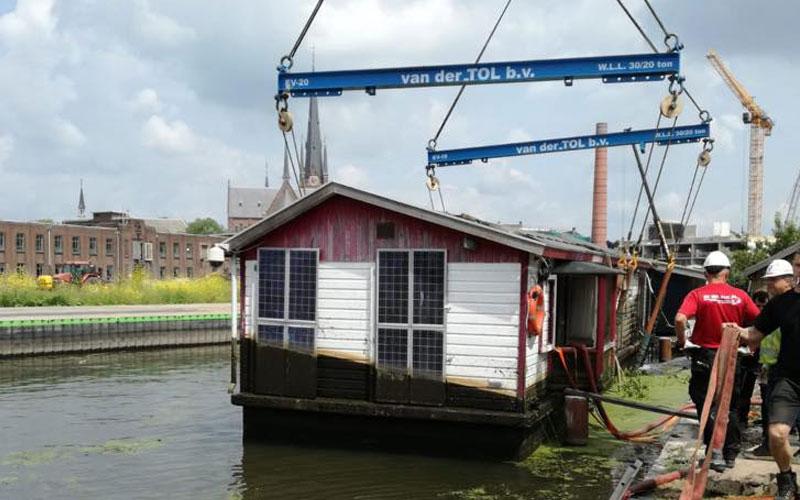Betonbak woonboot: vaak gebreken